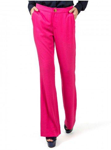 calca flare pink cintura media principessa gabriela look