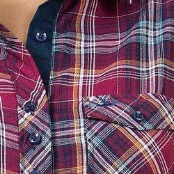 detalhe camisa xadrez flanelada principessa marilu
