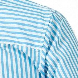 detalhe camisa premium listrada azul principessa jennifer alta costura