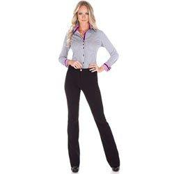 calca social alfaiataria flare cintura media principessa fabiula look completo comprar completo