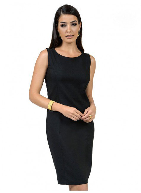 vestido feminino preto social principessa claudete