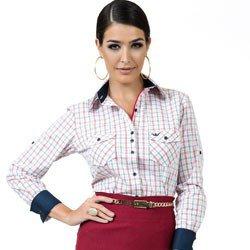 camisa xadrez feminina principessa edina look