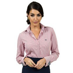 detalhe camisa premium listada principessa charlize vista coberta look