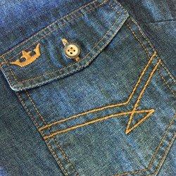 bolso camisa moderna jeans principessa pedrita
