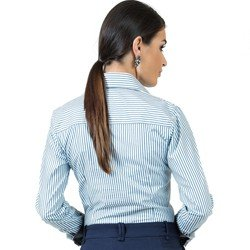 detalhe camisa premium social feminina fio egipcio principessa madonna corte tecido