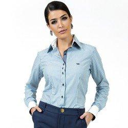 detalhe camisa premium social feminina fio egipcio principessa madonna look