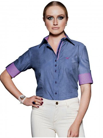 camisa feminina social principessa tauana