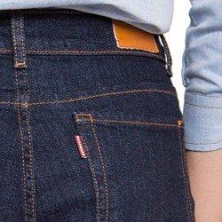 calca flare jeans escuro marinho social denim zero dz2517
