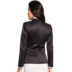 blazer preto feminino social principessa corte e tecido