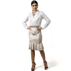 blusa transpassada branca aurora decote v look como usar