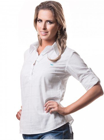 blusa feminina branca principessa keilla look