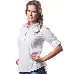 blusa feminina branca principessa keilla look detalhes