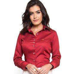 camisa premium fio egipcio vermelha principessa alexia algodao
