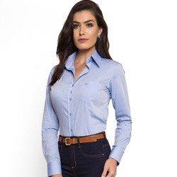 camisa social feminina com bolso principessa thaiza detalhes look completo comprar