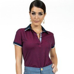 camisa polo bordo maquinetada principessa ruana detalhes look
