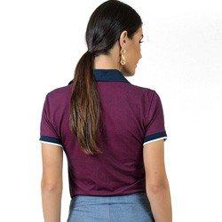 camisa polo bordo maquinetada principessa ruana detalhes modelagem