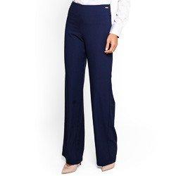 calca social pantalona marinho principessa paulina detalhe