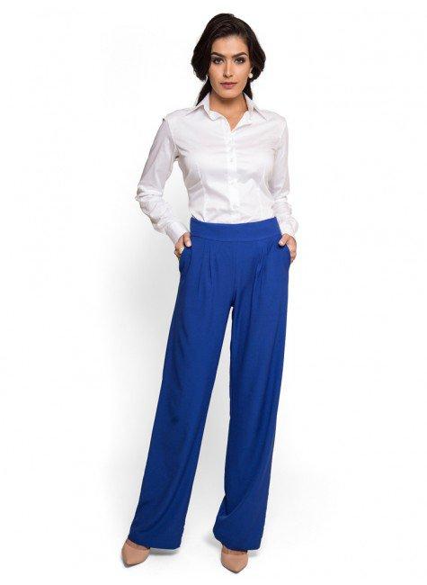 2eca7c8a74 ... camisa basica branca com elastano feminina principessa roberta look  compre completo ...