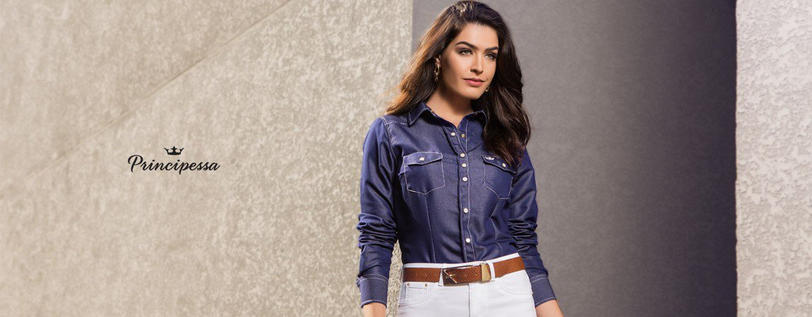 bannerconceito camisa jeans escuro principessa inarae