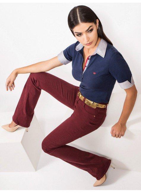 cfc613d84c ... camisa polo marinho feminina principessa ingrid conceito