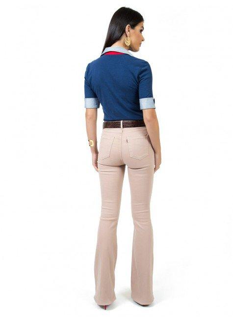 ca7129fc00 ... camisa polo marinho feminina principessa ingrid look compre completo  costa ...