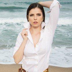 camias de linho feminina principessa paloma detalhe tecido