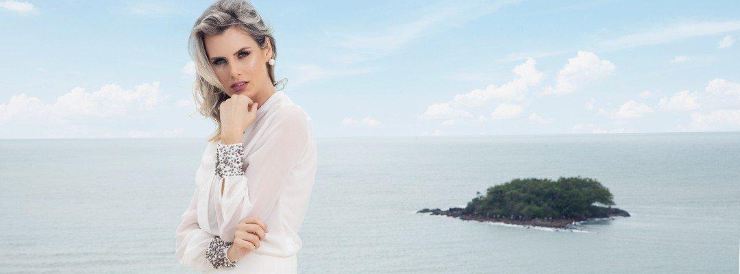 camisa off white com pedraria feminina principessa graciane conceito banner