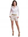 shorts linho social feminino principessa rosaura look completo