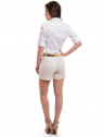 shorts linho social feminino principessa rosaura look completo costa