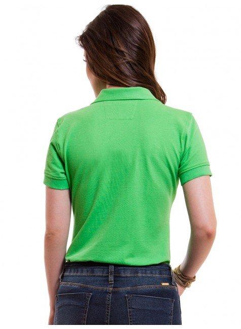 1a462e5bde ... camisa polo feminina verde principessa ariel look costa ...