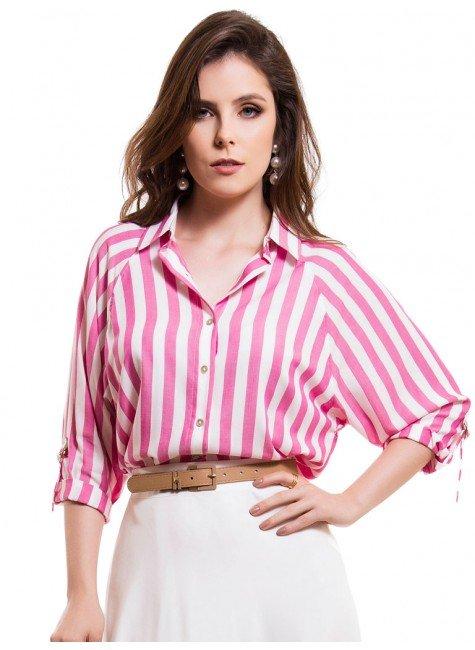 camisa ampla manga raglan listrada principessa kristen look