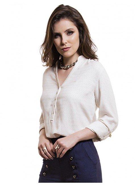 blusa social feminina de linho principessa rayane