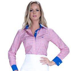 camisa premium principessa leticia maquinetado detalhe look