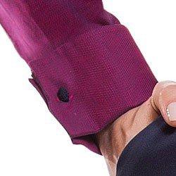 camisa feminina premium com abotoadura principessa marjoly detalhe punho
