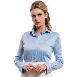 camisa feminina premium principessa tiffany detalhe look