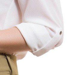 camisa com amarracao feminina principessa joaquina detalhe martingale