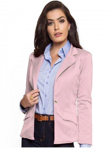 blazer social feminino rose principessa aliete look