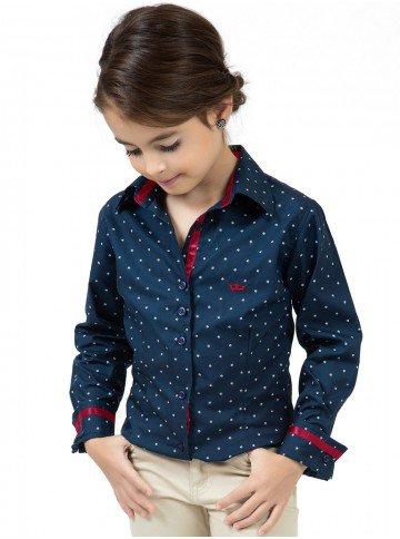 camisa infantil tal mae tal filha principessa yasmin fita cetim bordo look