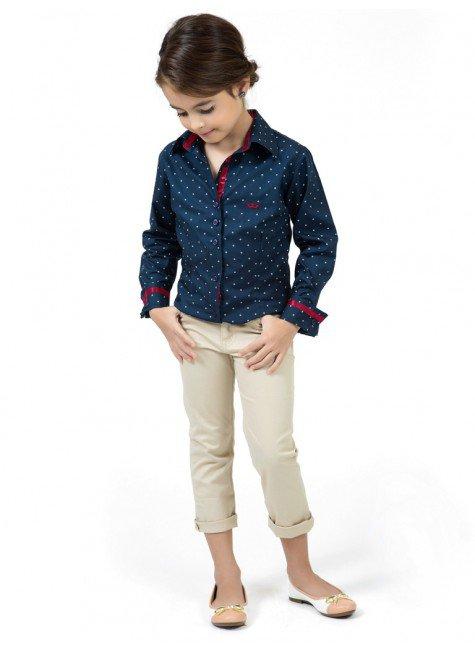 8aa8fe7ce ... camisa infantil tal mae tal filha principessa yasmin fita cetim bordo  look completo ...