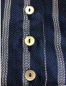 camisa social listrada azul principessa beatriz casquinha madreperola