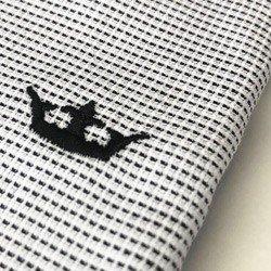 camisa social manga longa premium principessa viviane detalhe tecido maquinetado