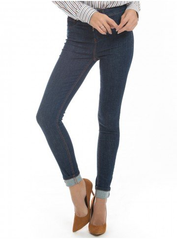 calca skinny denim zero dz2639 bolso lateral look