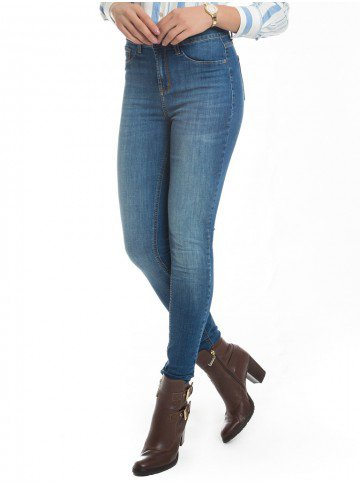 calca feminina skinny bigodes denim zero dz2612 look completo
