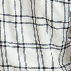 camisa xadrez feminina principessa liara detalhe tecido