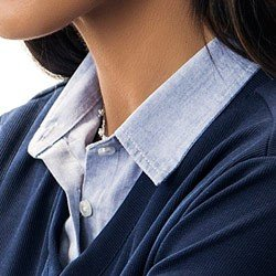 sueter camisa listrado marinho principessa leda detalhe gola