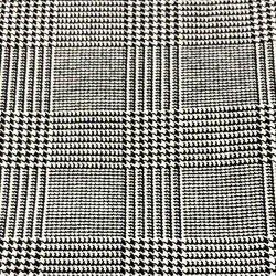 calca reta xadrez principe de galles principssa graziela tecido