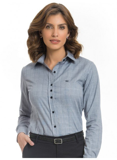 camisa xadrez principe de galles premium principessa elisabete look