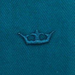 camisa feminina premium turquesa principessa joziana detalhe tecido espinha peixe