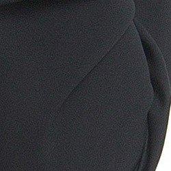 blusa feminina preta decote v principessa ariela detalhe tecido nao amassa