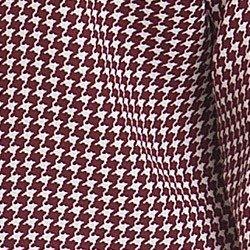 blusa gola de laco pied poule bordo principessa isabel detalhe tecido modelagem